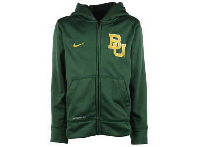 Baylor Bears NCAA Youth Performance Full Zip Hoodie