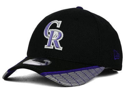 Colorado Rockies New Era MLB Reflective Slugger Diamond Era 39THIRTY Cap