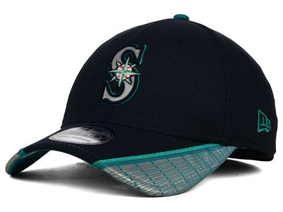 Seattle Mariners New Era MLB Reflective Slugger Diamond Era 39THIRTY Cap