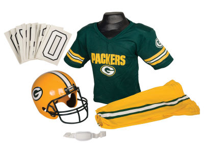 Green Bay Packers Deluxe Team Uniform Set