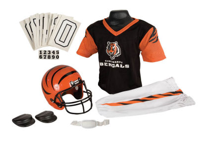 Cincinnati Bengals Deluxe Team Uniform Set