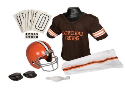Cleveland Browns Deluxe Team Uniform Set