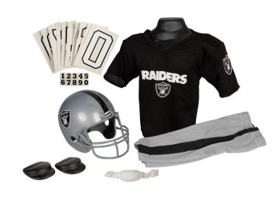 Oakland Raiders Deluxe Team Uniform Set
