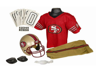San Francisco 49ers Deluxe Team Uniform Set