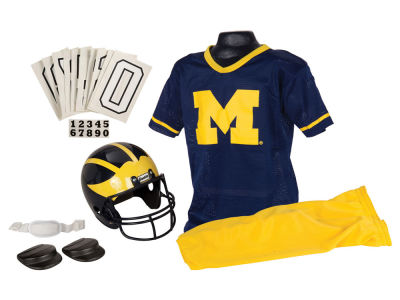 Michigan Wolverines Deluxe Team Uniform Set