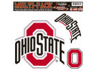 Ohio State Buckeyes Moveable 8x8 Decal Multipack Bumper Stickers & Decals