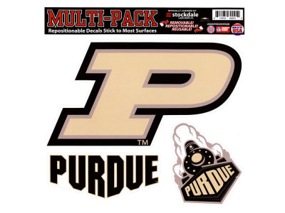Purdue Boilermakers Moveable 8x8 Decal Multipack