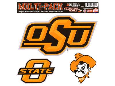 Oklahoma State Cowboys Moveable 8x8 Decal Multipack