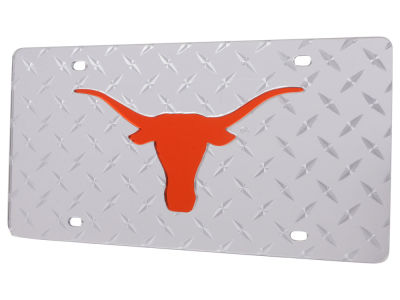 Texas Longhorns Diamond Acrylic Laser Tag