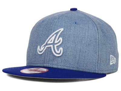 Atlanta Braves New Era MLB Fresh Tone 9FIFTY Snapback Cap