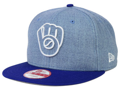 Milwaukee Brewers New Era MLB Fresh Tone 9FIFTY Snapback Cap