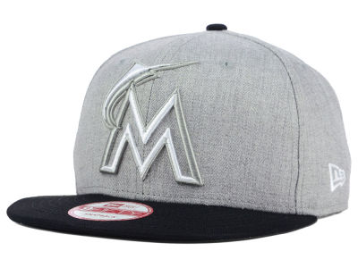 Miami Marlins New Era MLB Fresh Tone 9FIFTY Snapback Cap