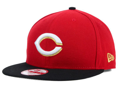 Cincinnati Reds New Era MLB Team Hasher 9FIFTY Snapback Cap