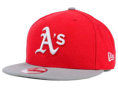 Oakland Athletics New Era MLB 2Tone Basic 9FIFTY Snapback Cap