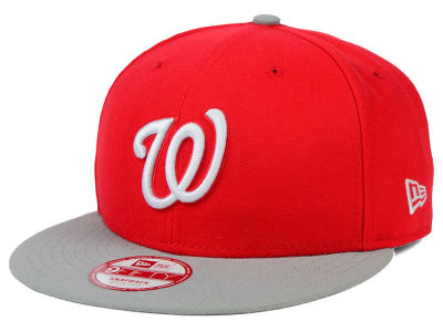 Washington Nationals New Era MLB 2Tone Basic 9FIFTY Snapback Cap