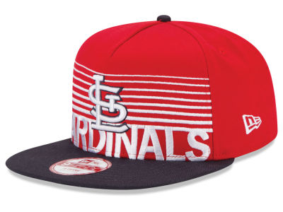 St. Louis Cardinals New Era MLB Strike Stack 9FIFTY Snapback Cap