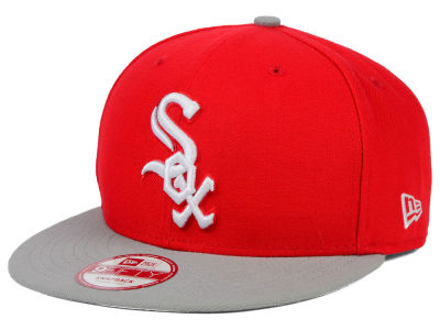 Chicago White Sox New Era MLB 2Tone Basic 9FIFTY Snapback Cap
