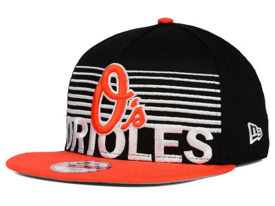 Baltimore Orioles New Era MLB Strike Stack 9FIFTY Snapback Cap