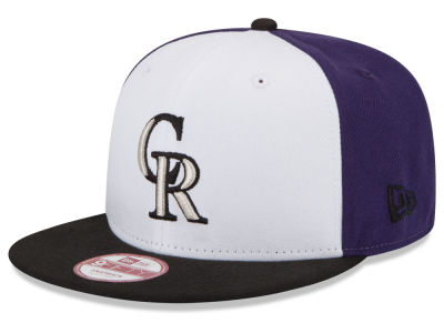 Colorado Rockies New Era MLB The Rotator 9FIFTY Snapback Cap
