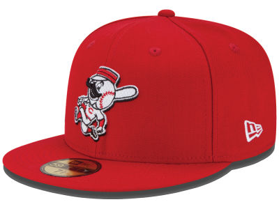 Cincinnati Reds New Era MLB Logo Lush 59FIFTY Cap