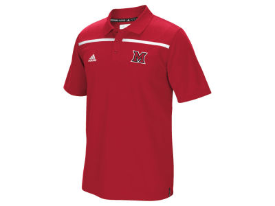 Miami (Ohio) Redhawks adidas NCAA Men's Sideline Coaches Polo Shirt