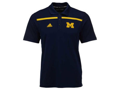 Michigan Wolverines adidas NCAA Men's Sideline Coaches Polo Shirt