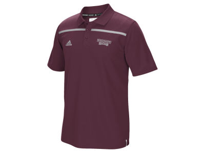 Mississippi State Bulldogs adidas NCAA Men's Sideline Coaches Polo Shirt