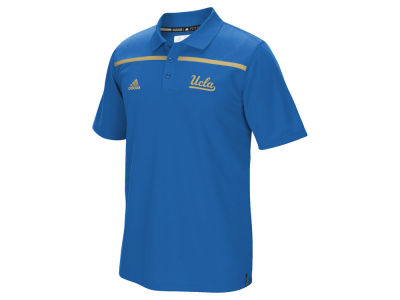 UCLA Bruins adidas NCAA Men's Sideline Coaches Polo Shirt