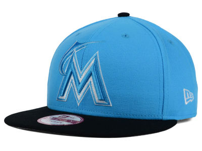 Miami Marlins New Era MLB The Queens 9FIFTY Snapback Cap