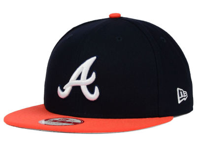 Atlanta Braves New Era MLB The Queens 9FIFTY Snapback Cap