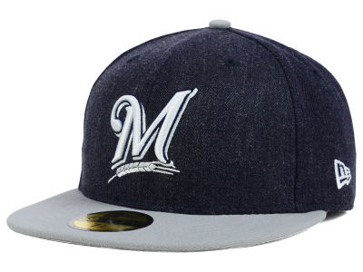 Milwaukee Brewers New Era MLB The Eaton 59FIFTY Cap