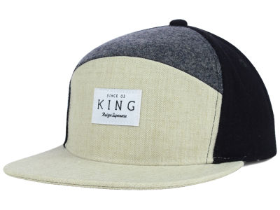 King Apparel Krest 2014 White Label Snapback Hat