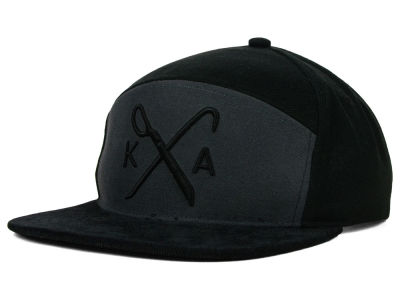 King Apparel Insignia 6 Panel Hybrid Snapback Hat
