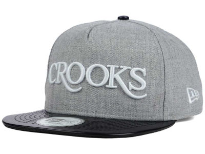 Crooks & Castle Thuxury Serif Strapback Cap