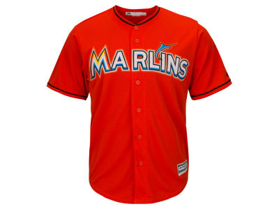 Miami Marlins Majestic MLB Men's Blank Replica Cool Base Jersey