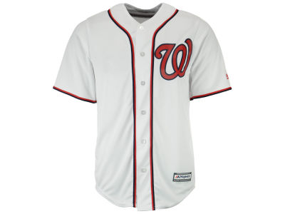Washington Nationals Majestic MLB Men's Blank Replica Cool Base Jersey