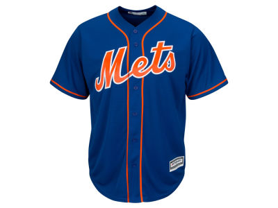New York Mets Majestic MLB Men's Blank Replica Cool Base Jersey