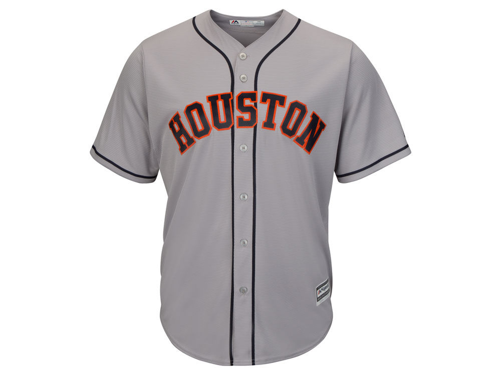 Houston Astros Majestic MLB Men s Blank Replica Cool Base Jersey ... 285152545