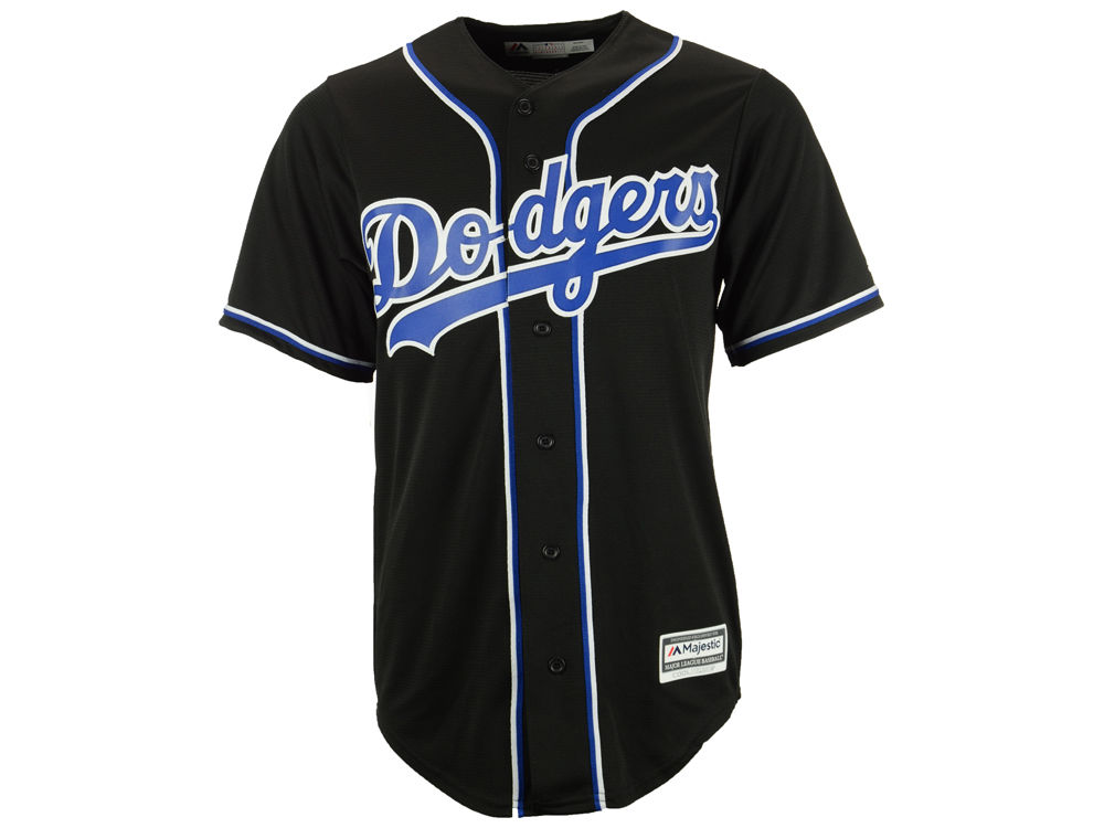 568b9c59e Los Angeles Dodgers Majestic MLB Men s Blank Replica Cool Base Jersey