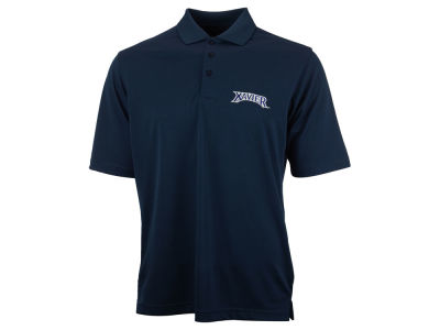 Xavier Musketeers Antigua NCAA Pique Xtra-Lite Polo