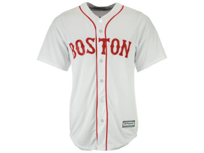 Boston Red Sox Majestic MLB Men's Blank Replica Cool Base Jersey