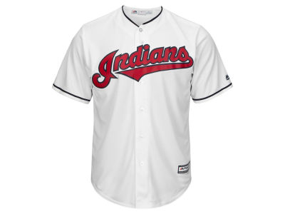 Cleveland Indians Majestic MLB Men's Blank Replica Cool Base Jersey