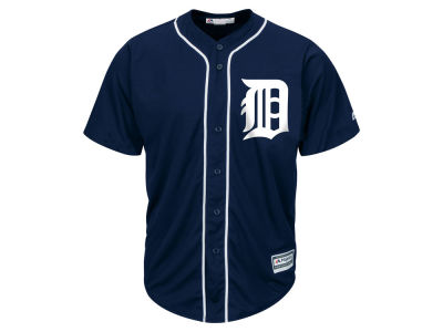 Detroit Tigers Majestic MLB Men's Blank Replica Jersey