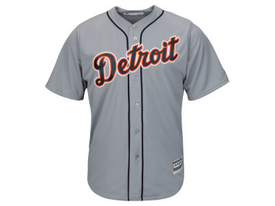 Detroit Tigers Majestic MLB Men's Blank Replica Cool Base Jersey