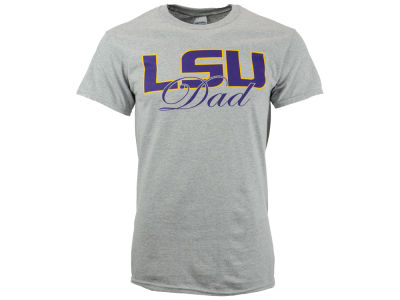 LSU Tigers NCAA Men's Identity Script T-Shirt