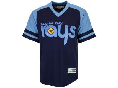 Tampa Bay Rays Majestic MLB Men's Blank Replica Cool Base Jersey