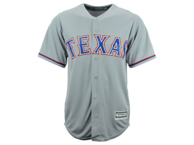 Texas Rangers Majestic MLB Men's Blank Replica Cool Base Jersey