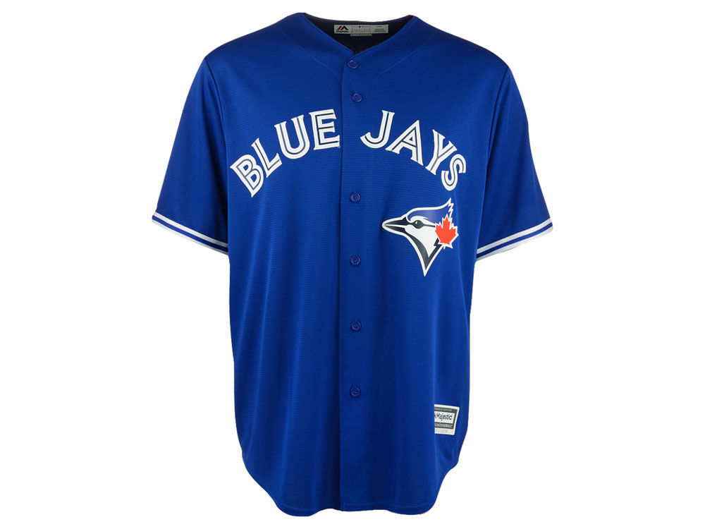 toronto blue jays majestic mlb mens blank replica cool base jersey