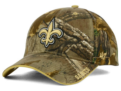 New Orleans Saints '47 NFL Realtree Frost MVP Cap