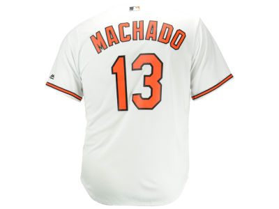 Baltimore Orioles Manny Machado Majestic MLB Men's Player Replica Cool Base Jersey